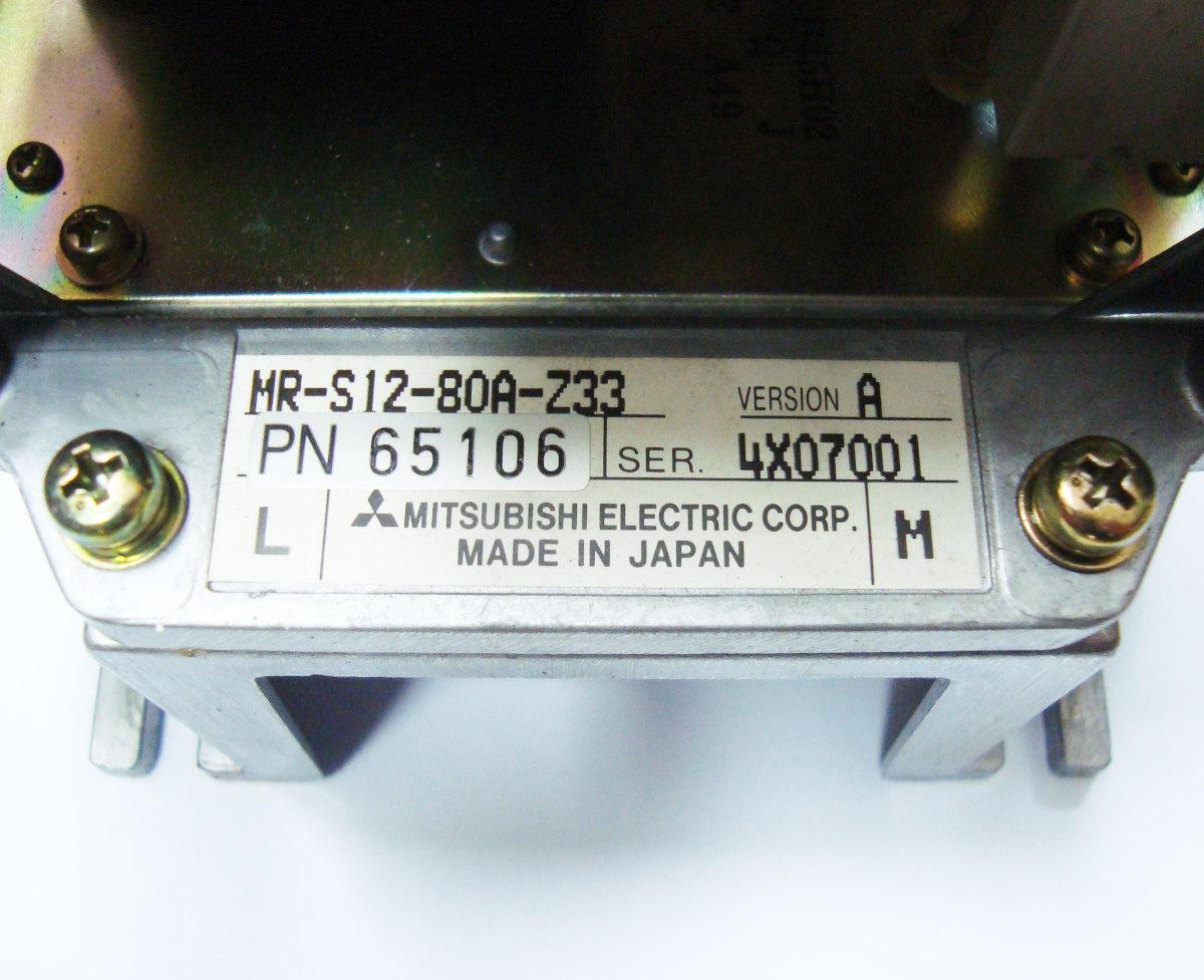 VORSCHAU: MITSUBISHI ELECTRIC MR-S12-80A-Z33 FREQUENZUMFORMER