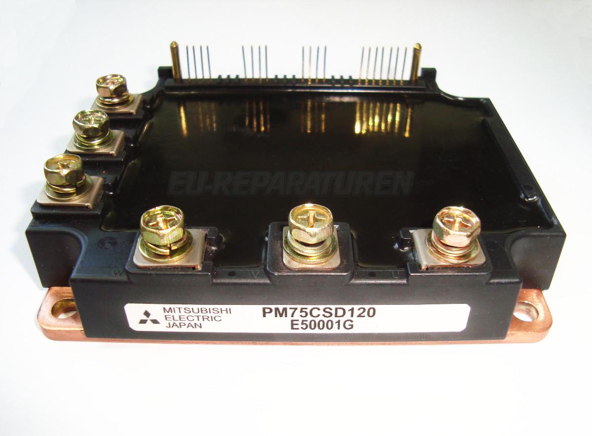 Weiter zum Artikel: MITSUBISHI ELECTRIC PM75CSD120 IGBT MODULE